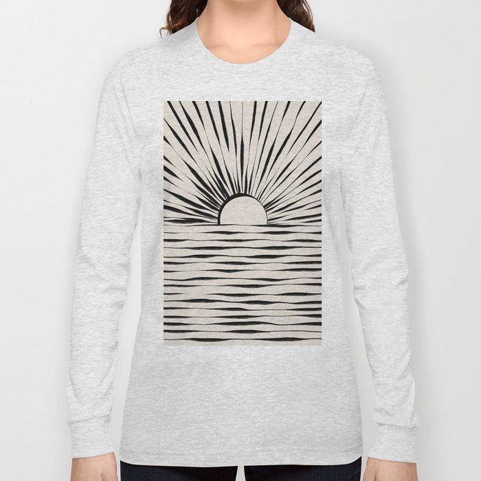 Minimal Sunrise / Sunset Long Sleeve T-shirt