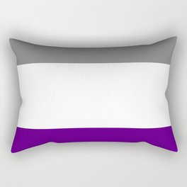 Asexual Pride Flag Rectangular Pillow
