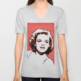Judy Garland | Pop Art Unisex V-Neck