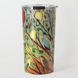 27 Birds Travel Mug