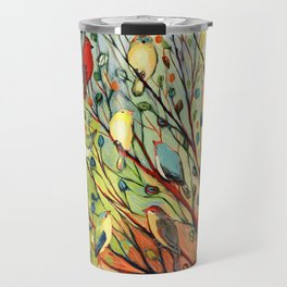 27 Birds Travel Mug