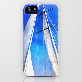 Sailing Unties The Knots Of My Mind iPhone Case