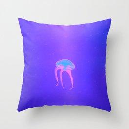 Neon Jelly Throw Pillow