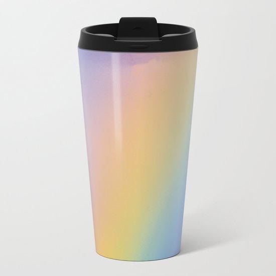 Inside the Rainbow Metal Travel Mug
