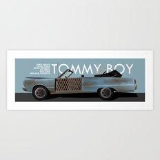 Tommy Boy Art Print