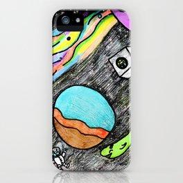 Space Fun iPhone Case