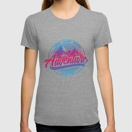 Dream Explore Discover Adventure Is Out There bp T-shirt