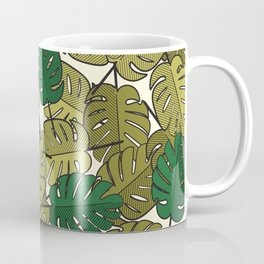 Botany: Monstera Deliciosa Coffee Mug