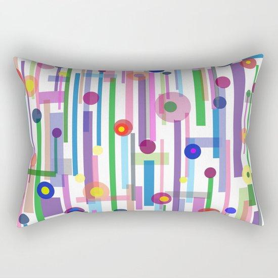 Plink (see also Plink Cherry and Plink Purple) Rectangular Pillow