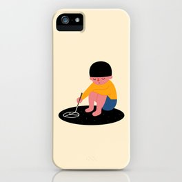 Peace Please iPhone Case