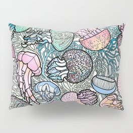 Jellyfishes Pillow Sham