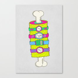 Never enough watches Canvas Print