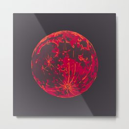 Blood Moon 1 Metal Print