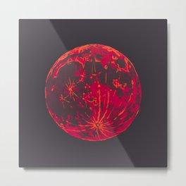 Blood Moon 1 Metal Print