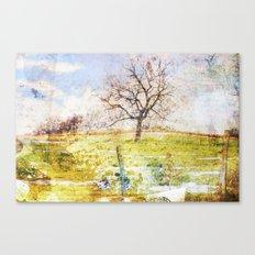 1tree_spring Canvas Print