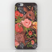 oana befort iPhone & iPod Skins featuring FAWN & FLORA by Oana Befort