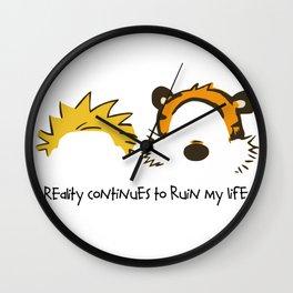 Calvin and Hobbes Wall Clock