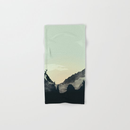 Misty Mountain Hand & Bath Towel