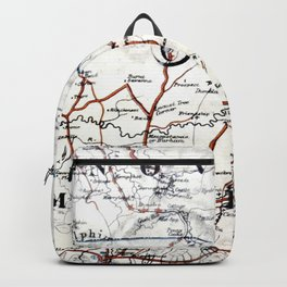 Map Section: Jamaica Backpack