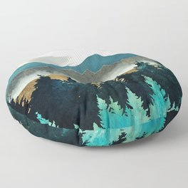 Forest Mist Floor Pillow