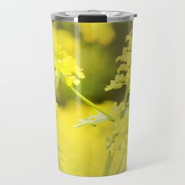 Floral Page Travel Mug