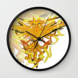 Team instinct Wall Clock