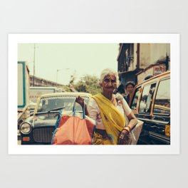 In Mumbai Art Print