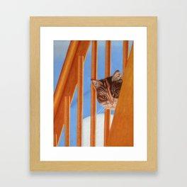 I See You Too Framed Art Print