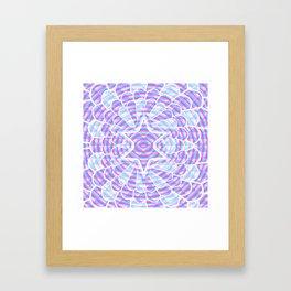 Blue trance Framed Art Print