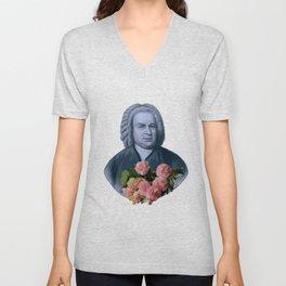 Bach Flowers Unisex V-Neck