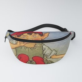 """""""Elf on a Leaf"""" by Florence Anderson  Fanny Pack"""