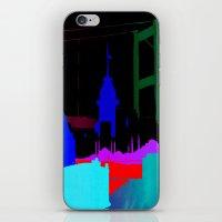 istanbul iPhone & iPod Skins featuring Istanbul by Duru Eksioglu