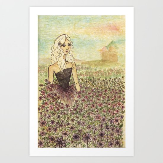 Seclusion Art Print