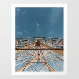Love above the clouds Art Print