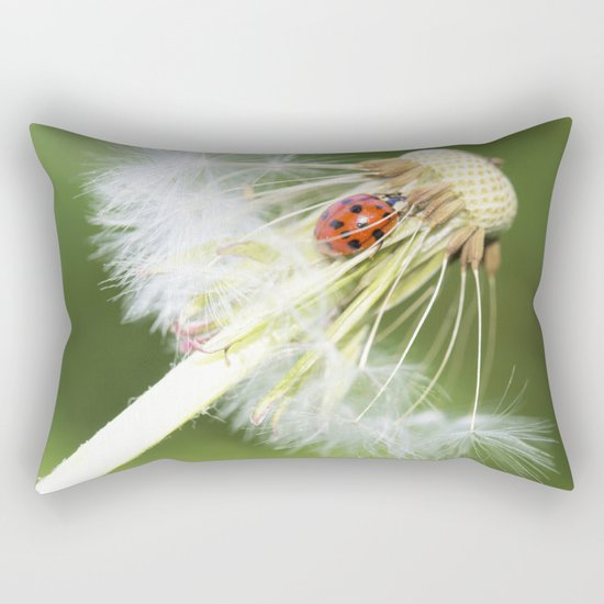 dandelion Rectangular Pillow