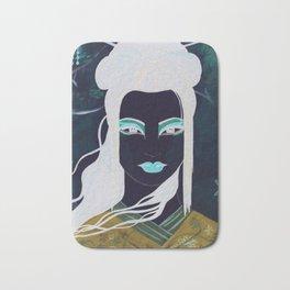 Gothic Geisha #2 Bath Mat