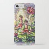 buddha iPhone & iPod Cases featuring Buddha  by Harsh Malik
