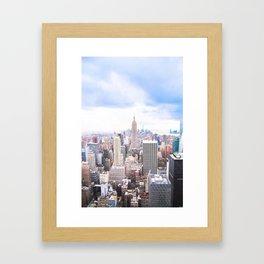 296. Empire View, New York Framed Art Print