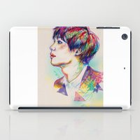 shinee iPad Cases featuring Colorful SHINee Taemin  by sophillustration