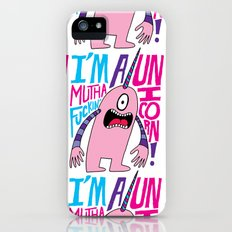 Mutha F'n Unicorn iPhone (5, 5s) Slim Case