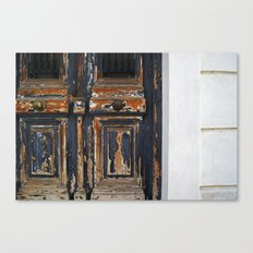Neoclassical door Canvas Print