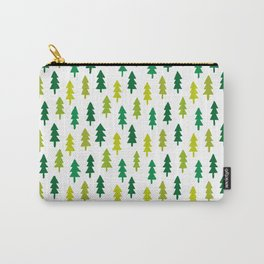 Pine Trees Carry-All Pouch