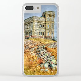 Cabot tower Clear iPhone Case