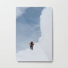 Climbing the Hogsback Metal Print