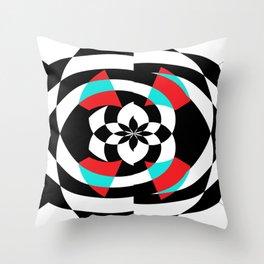 Stripe Me Spiral Throw Pillow