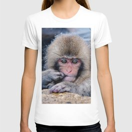 Japanese Snow Monkey T-shirt