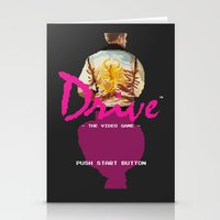 video game Stationery Cards featuring Drive Video Game by Simon Alenius