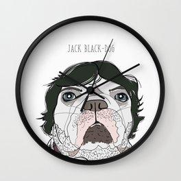 Celebrity Dogs - Jack Black-Dog Wall Clock