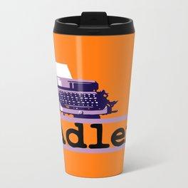 Adler Typewriter Travel Mug