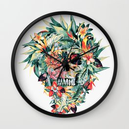 MOMENTO MORI V Wall Clock